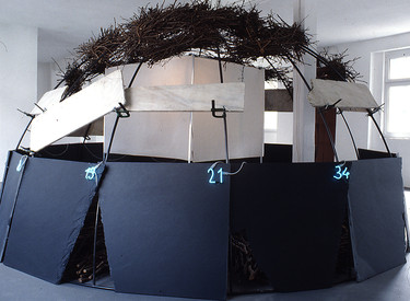 Mario Merz, 'Pythagoras Haus', 1994