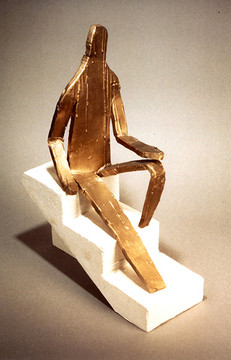 Bruce Nauman, Maquette for 5 Foot 8 Inch Figure,1998