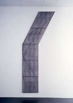 Robert Mangold, Columm Structure, 2007