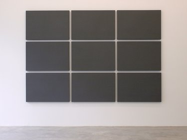 Alain Charlton, Painting with 9 Canvases, 2008
