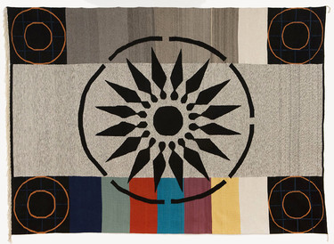 Rita McBride, Mae West Mandala (Oaxaca), 2009