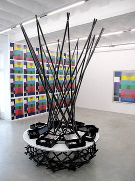 Rita McBride, Mae West (Kiosk), 2010
