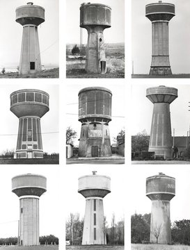 Typology Watertowers, 1967 - 2009