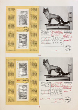 Hanne Darboven, Fuchs du hast die Gans gestohlen, 1990