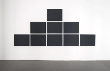 Alain Charlton, Pyramid Grid Painting, 2011