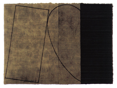 Robert Mangold, Varied Figure Zone,  2 Parts, 2000